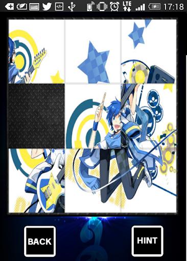 スライドパズル ボカロKAITO【暇つぶし】