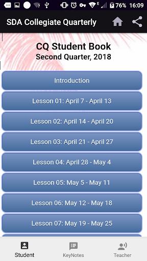 Collegiate Quarterly - CQ App Q3-2019 screenshots 2