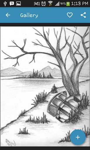Drawing Scenery Landscapes screenshots 3
