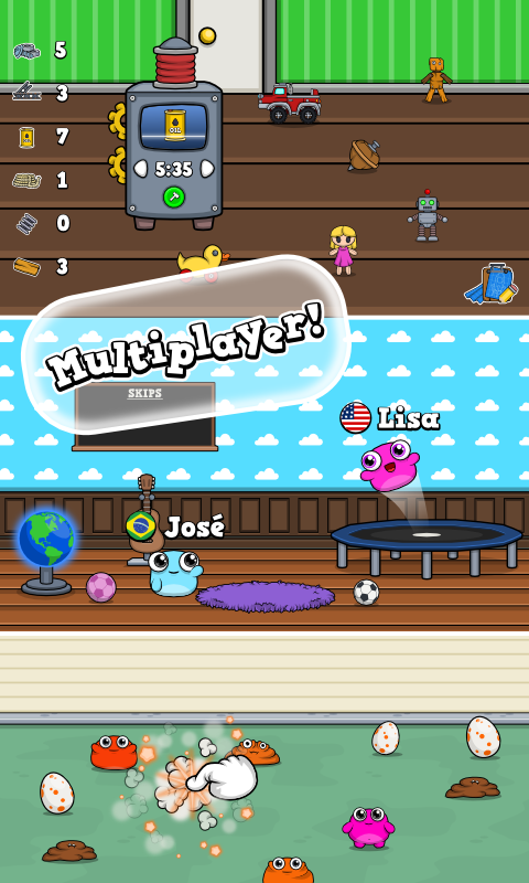Meep 🐾 Virtual Pet Game- screenshot