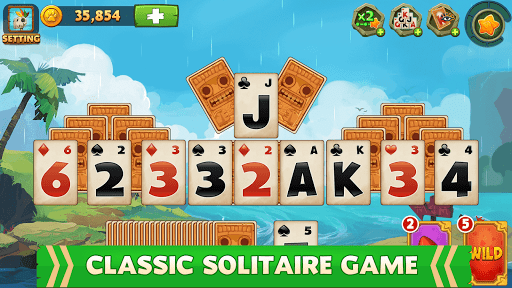 Solitaire - Island Adventure - Tripeaks 2.2.4 screenshots 1