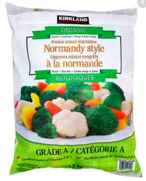 Costco Normandy Vegetables