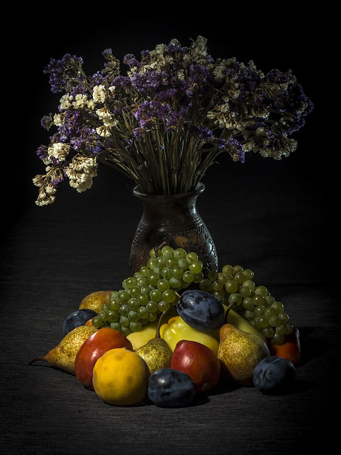 by Peter Mikuska - Food & Drink Fruits & Vegetables ( raw, plant, juicy, tomato, diet, pepper, yellow, dieting, nature, fresh, autumn, grape, vegetarian, flower, closeup, fruit, pwcfruit, green, agriculture, peach, delicious, health, plum, organic, nutrition, sweet, red, bio, blue, color, food, background, ripe, eating, healthy, summer, freshness, harvest, group, vitamin, vegetable, garden, natural, produce, pear )