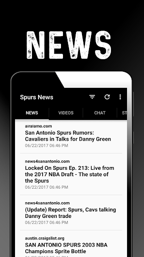San Antonio Basketball News: Spurs 1.0.44 screenshots 1