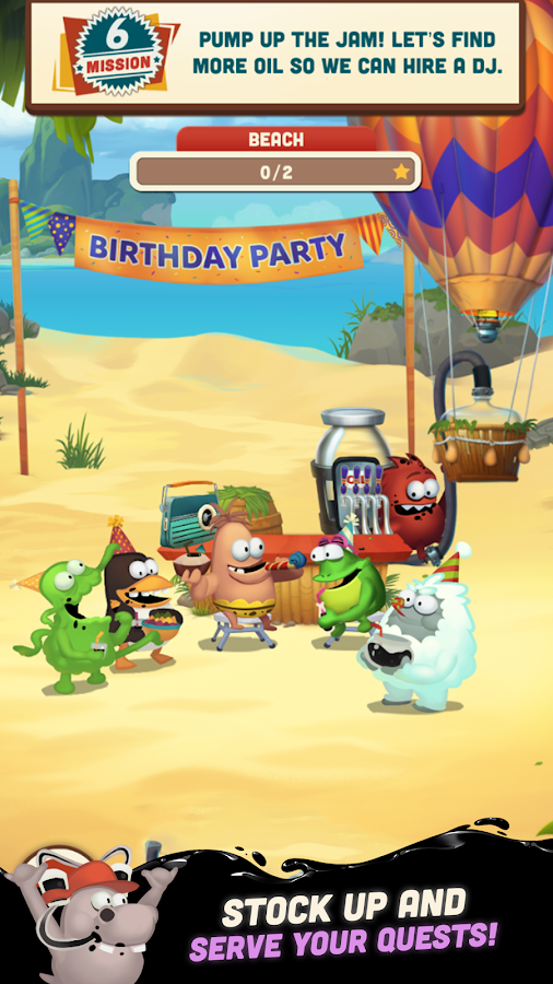Oil Hunt 2 - Birthday Party- screenshot