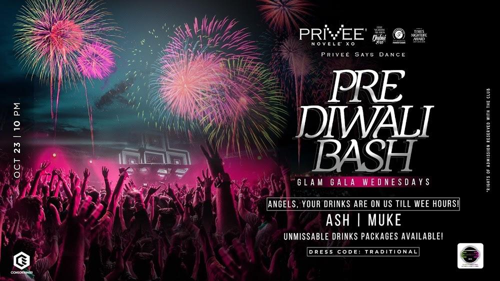 best diwali parties in delhi-pre diwali bash privee shangri las eros hotel