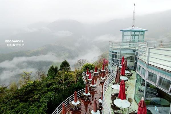 數碼天空景觀餐廳 新竹尖石景觀餐廳 可愛鬆獅犬、IG打卡蒙古包、嫣紅櫻花 離天空最近的雲海美景!