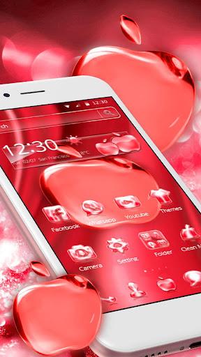Crimson Crystal Apple for Phone X 1.1.4 screenshots 1
