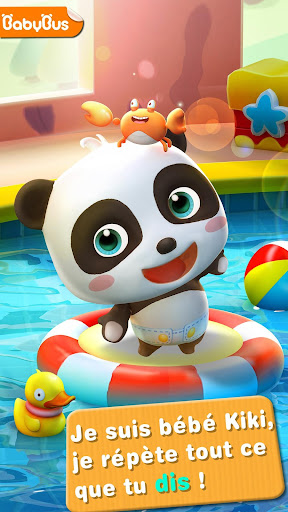 Bébé panda parlant - Talking fond d'écran 1