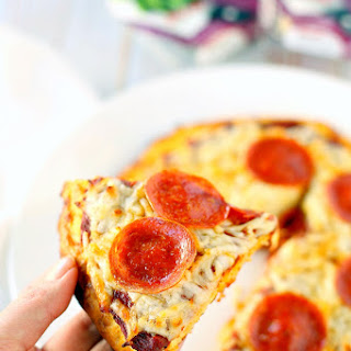 Quick & Easy Low Carb Keto Pizza.