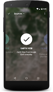 Muzei Earth View Wallpapers- screenshot thumbnail