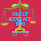 THE SALE OF GOODS ACT, 1930