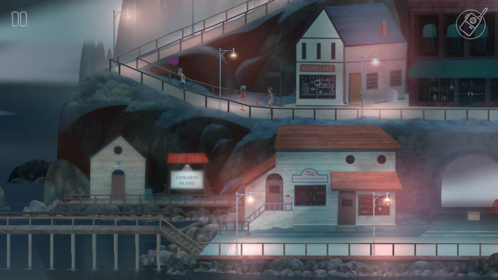 OXENFREE- screenshot