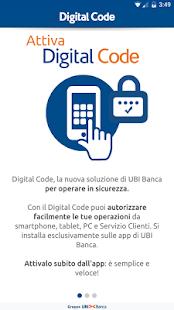 app ubi banca digital code