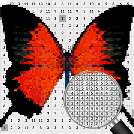 Butterfly Pixel Art Coloring By Number Google Play De Uygulamalar