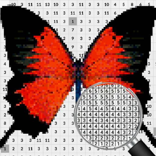 Butterfly Pixel Art Coloring By Number Google Play De Uygulamalar
