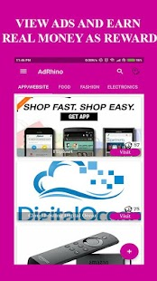 AdRhino - View Ads for Rewards - Local Advertising - náhled