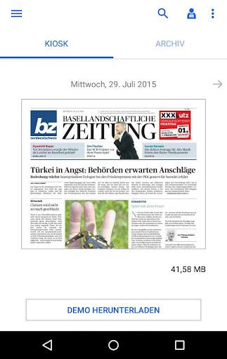 bz Baselland E-Paper