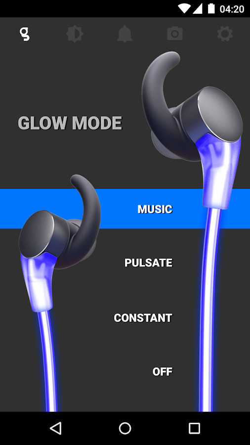 Glow Headphones- screenshot
