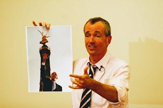 Photo: Botschafter Murphy spricht über Obamas Rede in Berlin