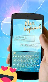 Messenger Keyboard Theme - náhled