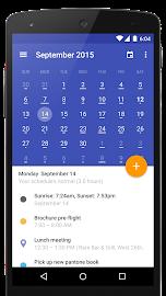 Today Calendar Screenshot 1