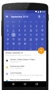 Today Calendar 2017 Screenshot