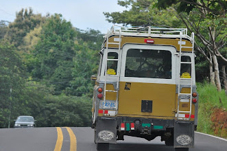 Photo: The right type of vehicle for driving up to Monteverde