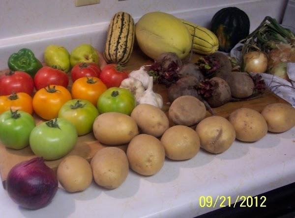 Produce from Green Bluff, WA. farms