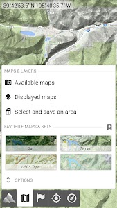 AlpineQuest GPS Hiking (Lite) screenshot 1