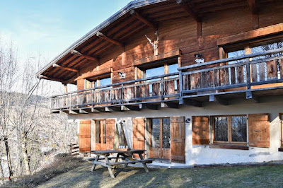 Classical Savoy Chalet in the French Alps in megeve