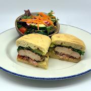 Dijon Grilled Chicken Sandwich