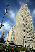 Photo: The Embarcadero Center were Uncle Steven's favorite buildings