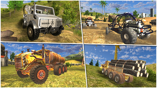 Truck Simulator 4x4 Offroad 1.10 Mod screenshots 1