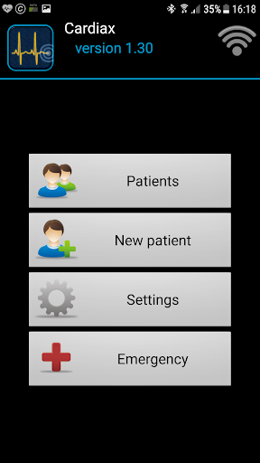 Cardiax Mobile ECG 1.36 screenshots 3
