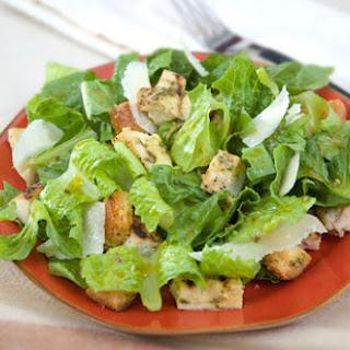 Pesto Chicken Caesar Salad
