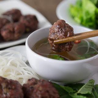 Vietnamese Pork Meatballs.