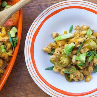Jeanette's Turkey Chili Verde Mac n' Cheese