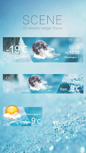Scene GO Weather Widget Theme