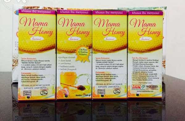 Madu Pelancar ASI Mama Honey Original