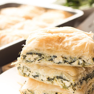 Greek Spinach Chicken Bake.