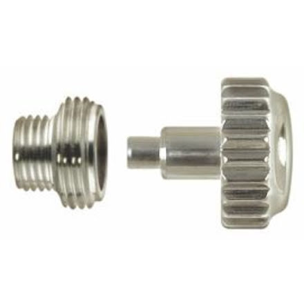 KRONA, ROLEXTYP STÅL Ø 6 mm - 0,90 Inkl o-ring + tub M4,4x3