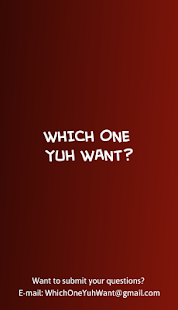 Which One Yuh Want - náhled