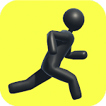 Run, dude, run Icon