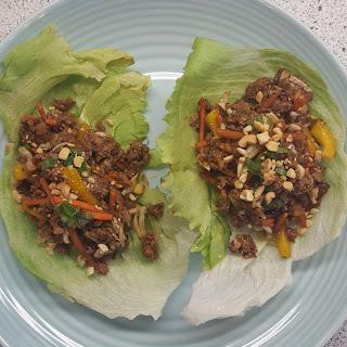 The Tastiest Thai Lettuce Wraps