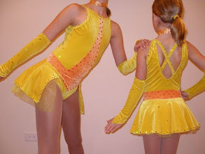 Photo: To buy ( ADC- Ya'll Got it) email me at Pam@Act2DanceCostumes.com  $115.00 QYT (4) Sizes available in (2)Child Med, (1)Child Large, (1)Child Large/Small Adult  Won BEST COSTUME Award. Over 5 gross (720) Swarovski Yellow, Orange & Crystal AB rhinestones 20's & 30's on EACH costume. This costume is like no other out there. Made by Meekelle buy designed by our studio. Colors of Orange and Yellow POP on stage! Leotard w/side to side back only skirt with arm bands and choker. Choker has almost 1 gross (144) of rhinestones. Two layers of yellow and orange tulle fabric added under skirt to give it lift. Back has x straps. It's unique swarovski rhinestone design makes this costume shimmer on stage like nothing I have seen before!  7 day returns same condition! Paypal/Credit/Western Union accepted. US shipping $10 plus 3% paypal fee for costumes over $100 Contact for world wide shipping quote. Thanks!
