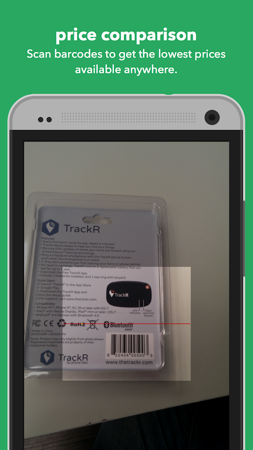 ShopSavvy Barcode Scanner- screenshot
