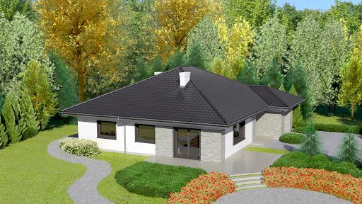projekt Dom przy Słonecznej 4 bis