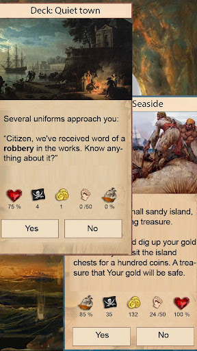 Captain's Choice: text quest apkslow screenshots 3