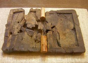 Photo: Bodrum, oudste boek ter wereld uit het scheepswrak van Uluburun